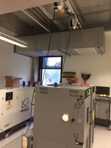 New Lab for Hunt Consolidated